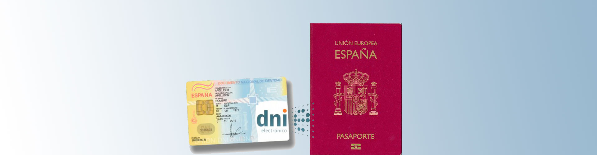 DNI y pasaporte español